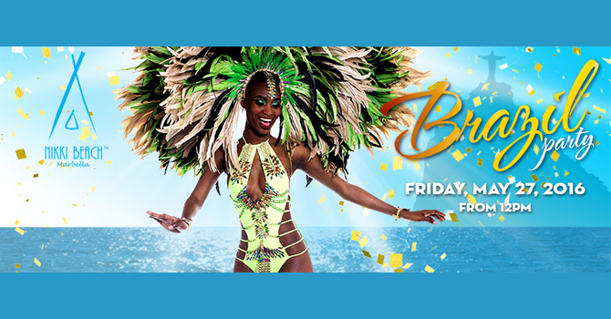 Brazil Party @ Nikki Beach - Marbella Events Guide