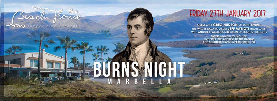Burns night marbella the beach house marbella events guide for American classic guest house nye beach
