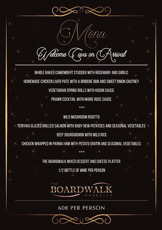 Masquerade Ball @ The Boardwalk - Marbella Events Guide