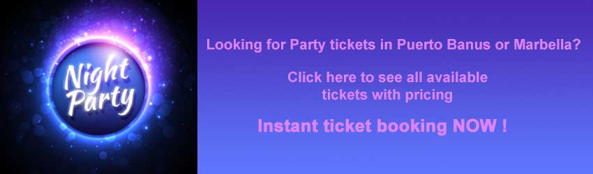 MEG Party Ticket booking