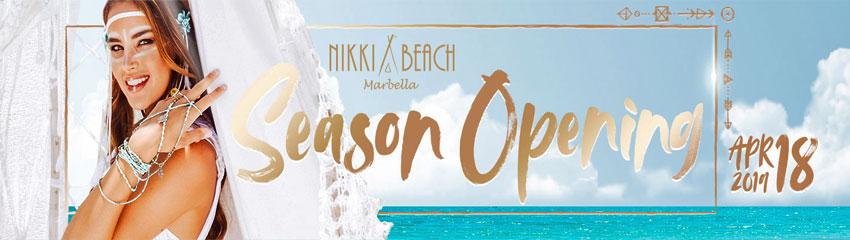 Nikki Beach opening party 2019
