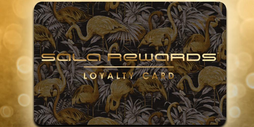 La Sala Reward Card
