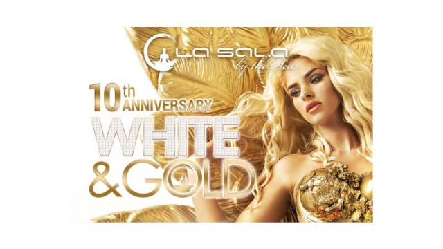 La Sala 10th Anniversary White and Gold Party 2017