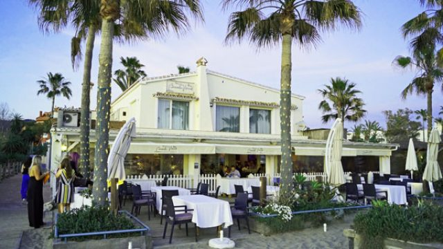 An event at the Beach House Marbella