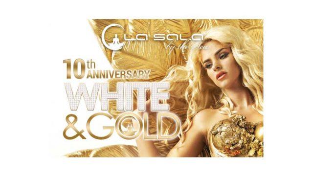 La Sala 10th Anniversary White and Gold Party 2017