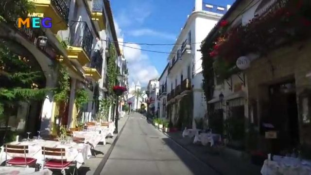 Marbella's Old Town walk