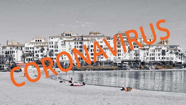 Corona virus situation in Marbella