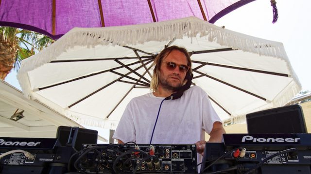 Till von Sein at Purobeach NoMaDe party in Marbella