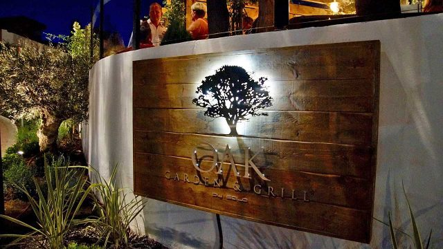 The OAK Garden & Grill Opening Party